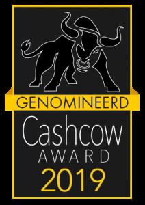 Cashcow award genomineerd 2019